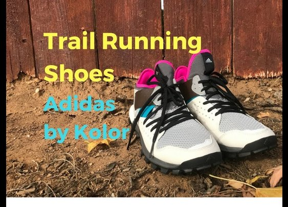 Adidas Response Trail Boost Trainers by Kolor - My New Favorite Trail Shoes - YouTube