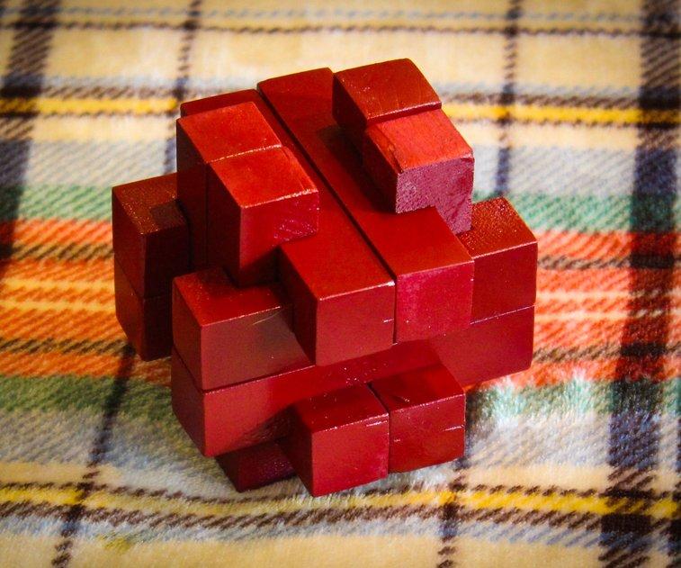 Burr Puzzle: 25 Steps