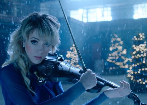Lindsey Stirling - Carol Of The Bells (Official Music Video)