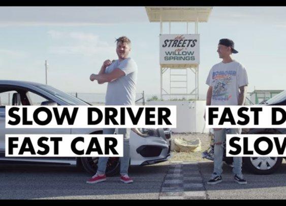 Fast Driver, Slow Car Vs Slow Driver, Fast Car [Donut Media]