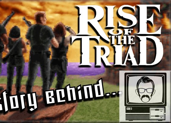 Rise Of The Triad: The Story Of [Nostalgia Nerd]