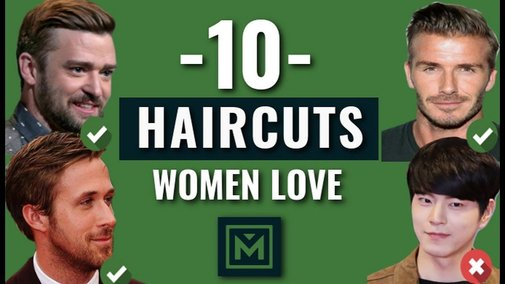 10 Haircuts Women Find INSANELY Attractive 2018 - The Best Haircuts for Guys - YouTube