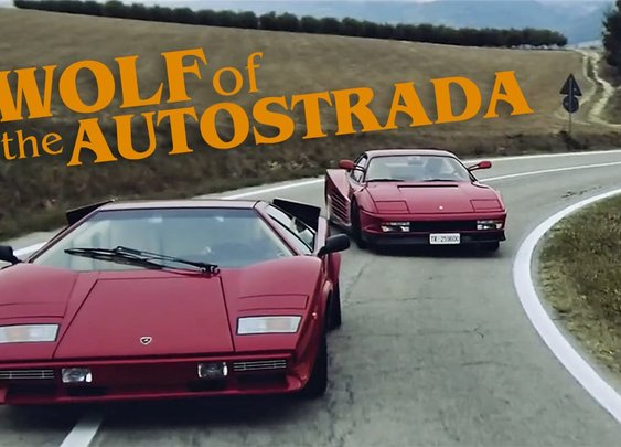 Short Film: Wolf Of The Autostrada (Turn Up The Volume)