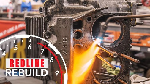 Volkswagen Beetle Engine Rebuild Time-Lapse | Redline Rebuild #7 - YouTube