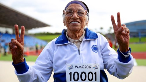 At Age 101, Man Kaur Of India Is A World Champion Runner