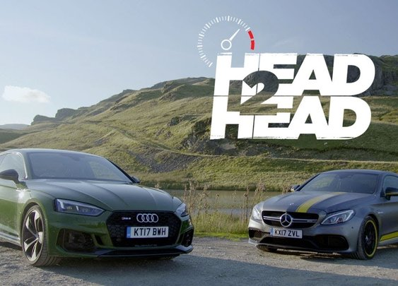 2018 Audi RS5 Vs. 2017 Mercedes-AMG C63 S Coupe [Head 2 Head - Episode 94]