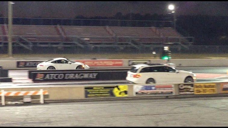 Doug DeMuro Races His Mercedes Station Wagon Against An Audi R8 And Porsche 911, Easily Outstrips Them