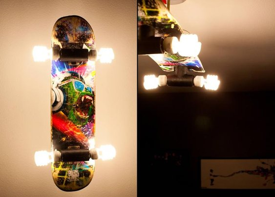 DIY Skateboard Light