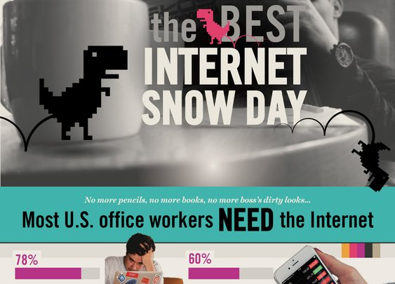 How To Have The Best Internet Snow Day