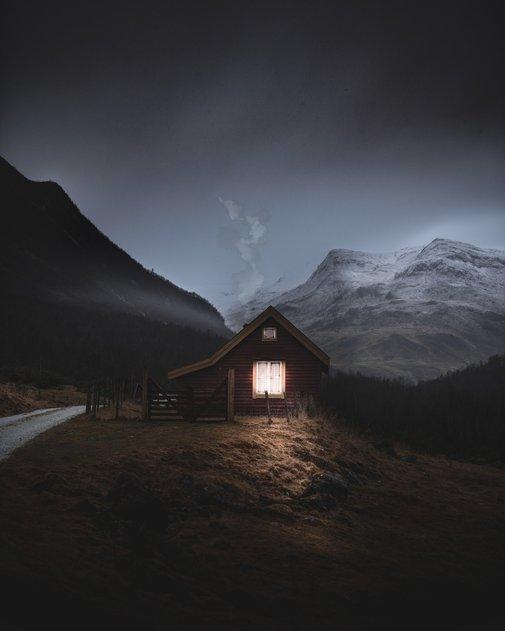 Cabin Near Stalheim, Norway