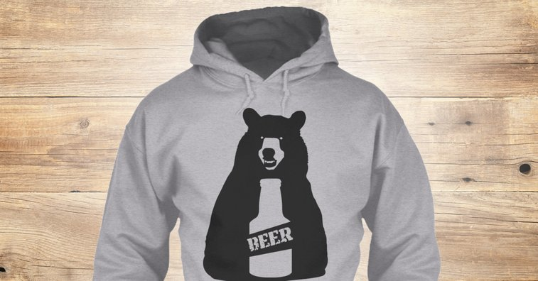 Bear Beer Products from Getting Weird | Teespring
