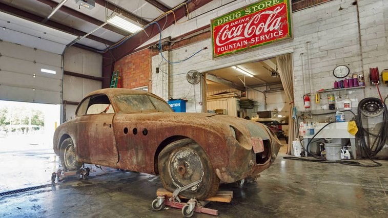 Exclusive: This Iowa barn-find BMW Veritas hides a rare 1937 328 factory lightweight racer