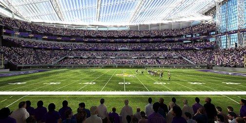 U.S. Bank Stadium | The Football Stadium Roof That Isn't There