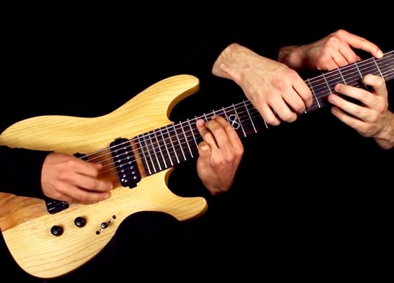 "Metallica's ""One"" Played on One Guitar"