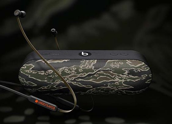 Undefeated x Beats By Dre Tiger Camo Collection