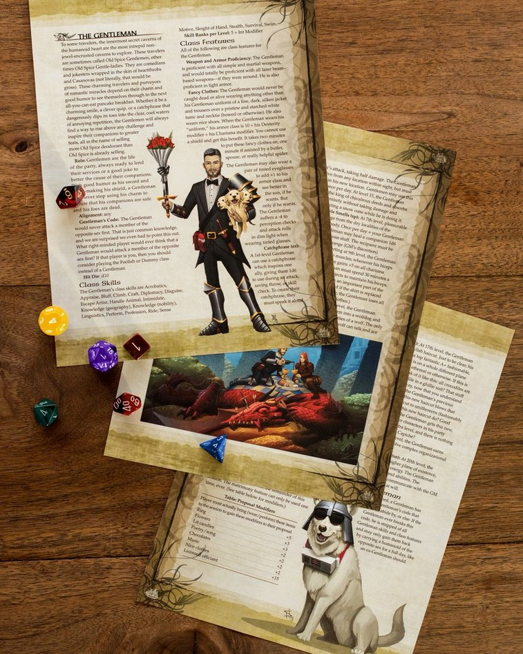 Old Spice Creates Their Own D&D Character Class
