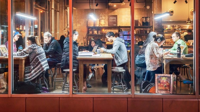 I'll Need Your Café's Wi-Fi Password Because I'm Working on My Novel Today | The New Yorker