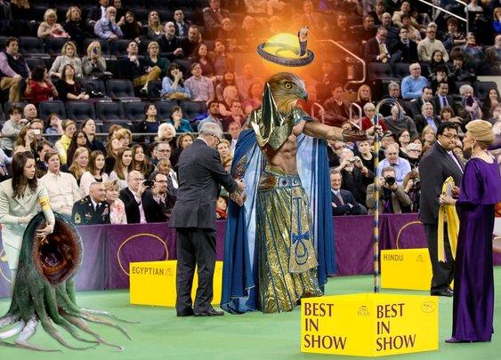 Ra Wins Westminster God Show