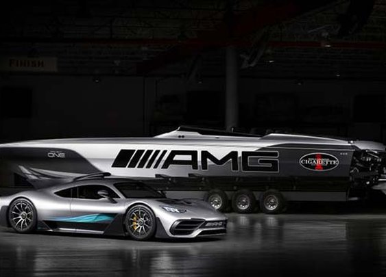 The Mercedes-AMG x Cigarette Racing 515 Project ONE Is Beyond Stunning