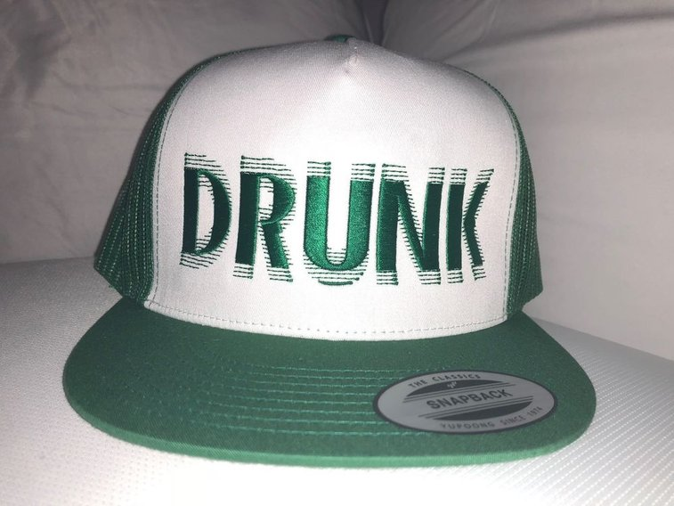 Drunk - St. Patrick's Day Trucker Cap | eBay