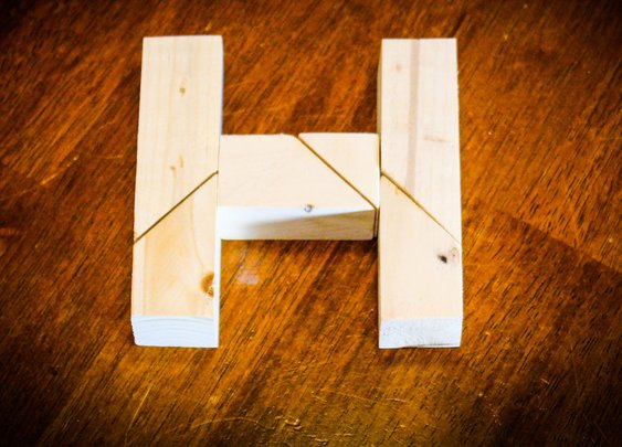 H Puzzle: 8 Steps (with Pictures)