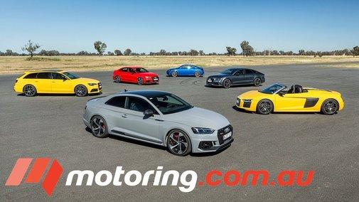A Celebration Of Speed: 2018 Audi RS Line-Up Mega Track Test