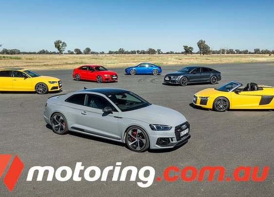 A Celebration Of Speed: 2018 Audi RS Line-Up Mega Track Test