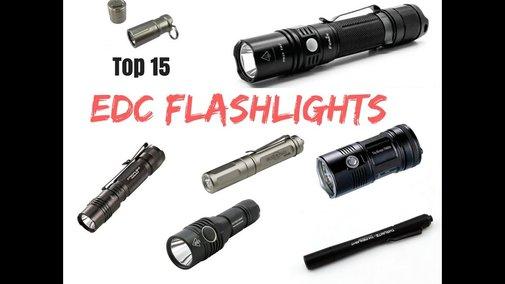 Ultimate 15 EDC Flashlights of 2018 - YouTube
