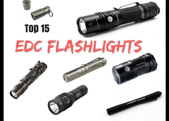 Ultimate 15 EDC Flashlights of 2018 - YouTube