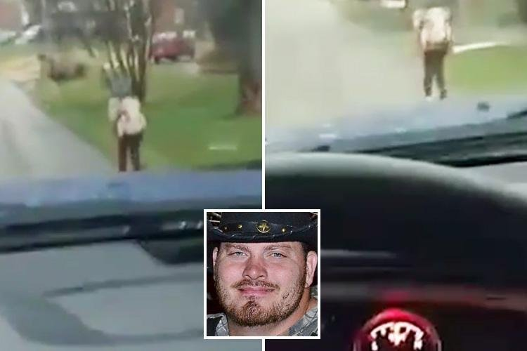 Dad makes his son run a mile to school in the rain for bullying other kids