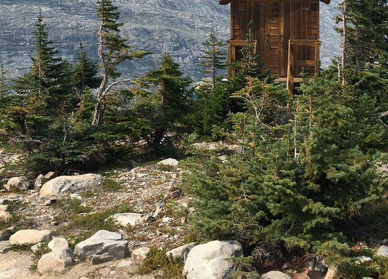 Most Scenic Outhouse Ever?