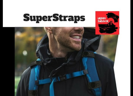 Super Straps : Make Your Backpack More Comfortable - YouTube
