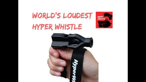 HyperWhistle - The Worlds Loudest Whistle - YouTube