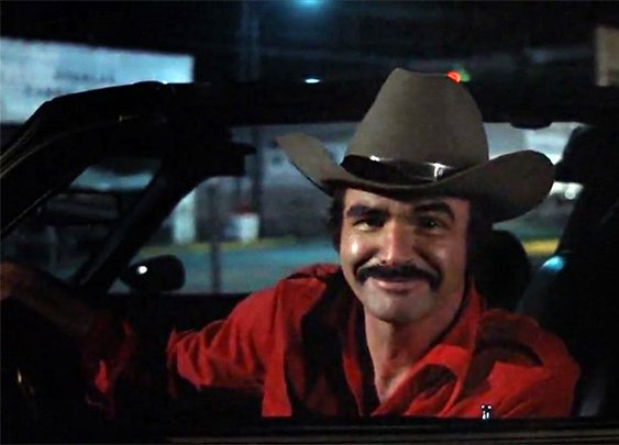 Burt Reynolds Chewing Gum in Movies & TV Shows