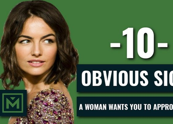10 SIGNS A Woman Wants To Be Approached - HOW TO Tell if She Wants to Talk to You - YouTube