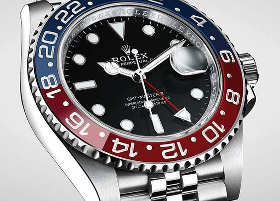 "Rolex introduced at #Baselworld2018 the GMT-Master II ""Pepsi"" in Stainless Steel"