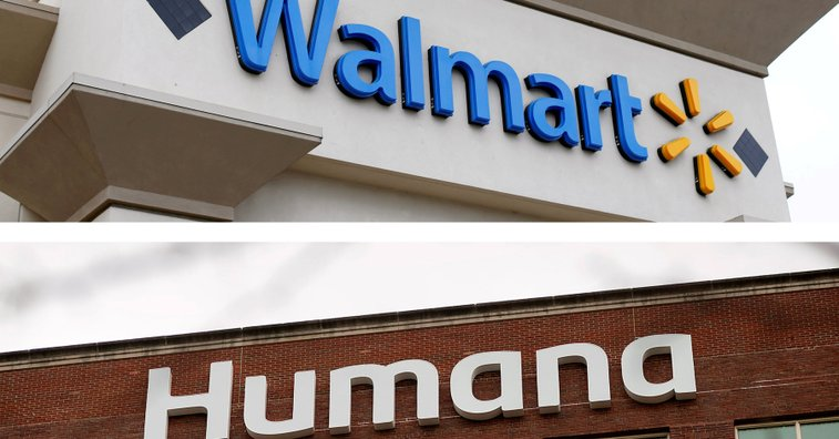 Walmart in Early-Stage Acquisition Talks With Humana