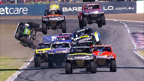 2017 Stadium SUPER Trucks Highlights - YouTube