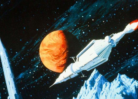 Stunning Sci-Fi Art Spaceships   Futurism