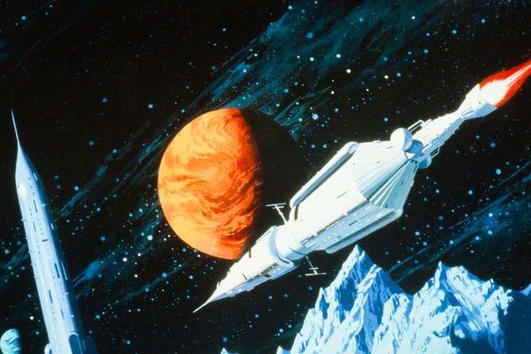 Stunning Sci-Fi Art Spaceships | Futurism