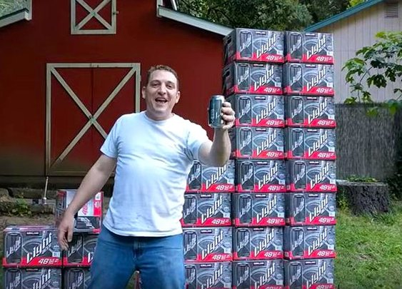 Man Goes Viral for His Hilarious Costco Kirkland Light Beer Commercial
