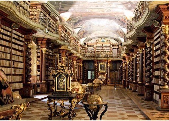 The most beautiful library in the world