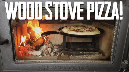 How To Make Wood Fired Pizza In Your Wood Stove