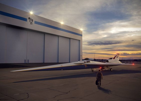 New NASA X-Plane Construction Begins Now
