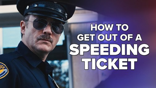 How To Get Out of a Speeding Ticket - YouTube