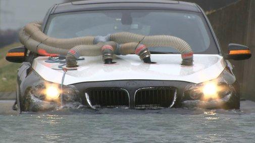 BMW 5 Series Gran Turismo - Pre-Production Car Testing
