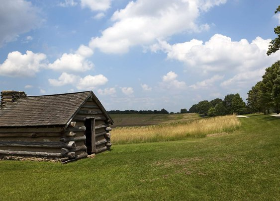 How the Log Cabin Became an American Symbol
