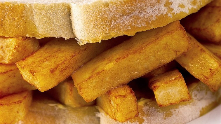 The Chip Butty Is the Deranged Nonsensical Sandwich of My Dreams | GQ