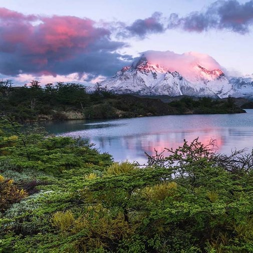 Amazing Timelapse from Torres del Paine National Park