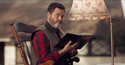 Nick Offerman Silently Judges Those Who Can't Repair Their Stuff
